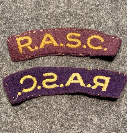 RASC Shoulder Titles #1