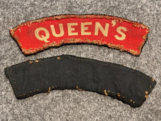 Queen's Regiment Printed Titles
